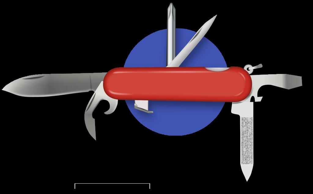 Squalean | icône du couteau suisse