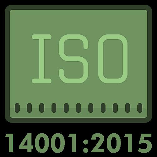 Icône Sq ISO 14001:2015