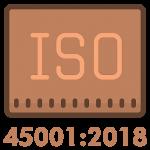 Icône Sq ISO 45001:2018