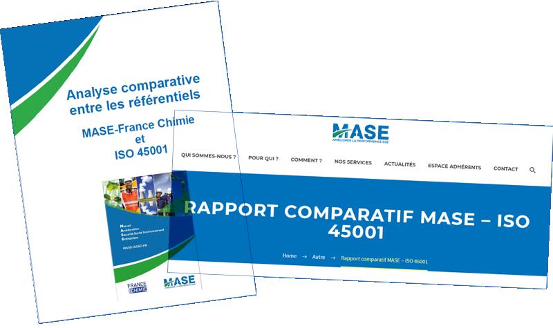 Comparaison MASE ISO