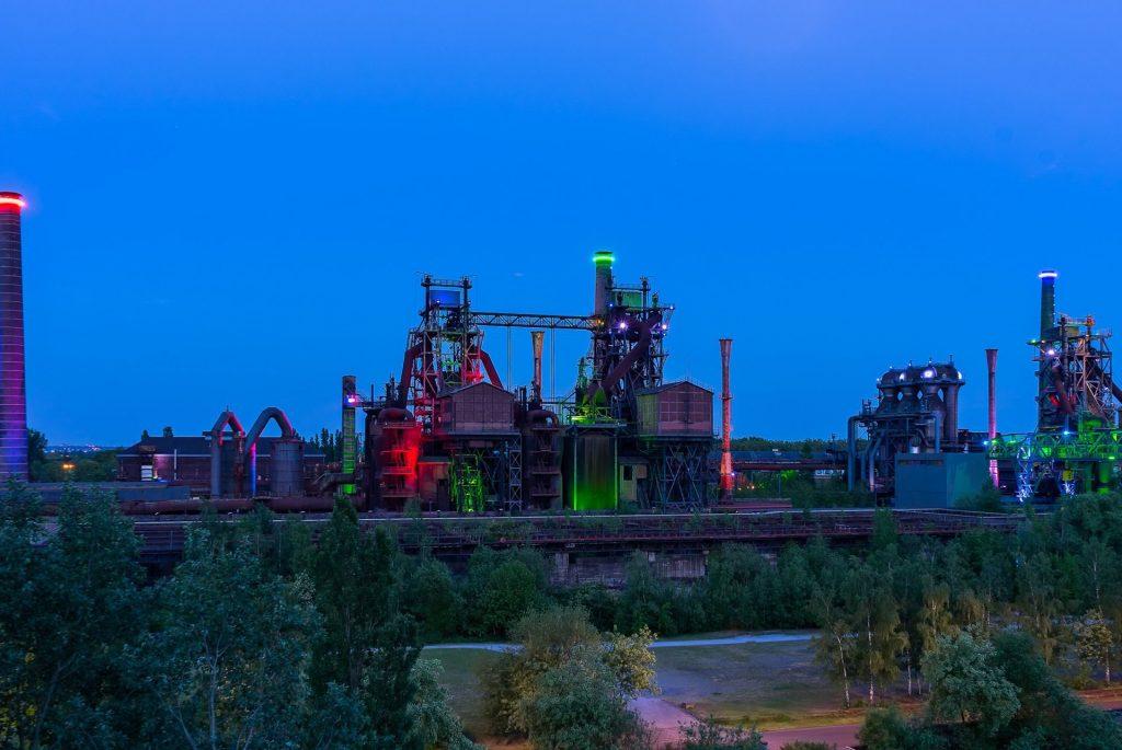 Site industriel chimique