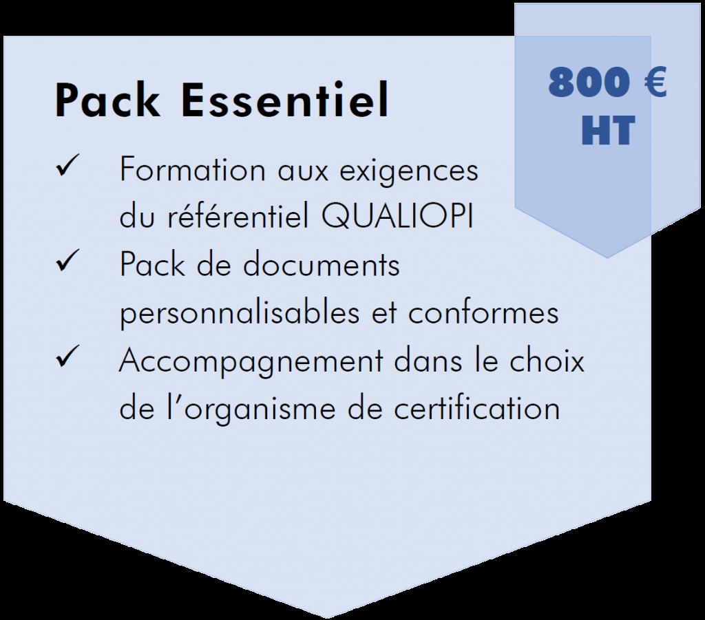 Pack Essentiel Qualiopi